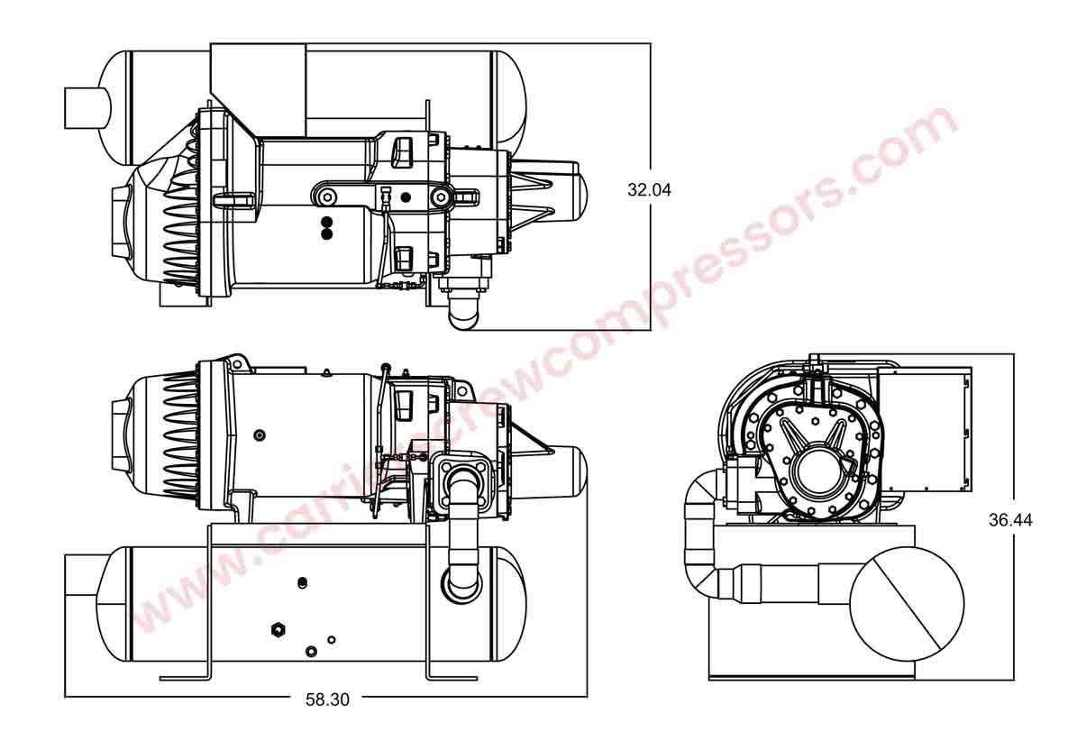Carrier 06TTA356 assembly drawing
